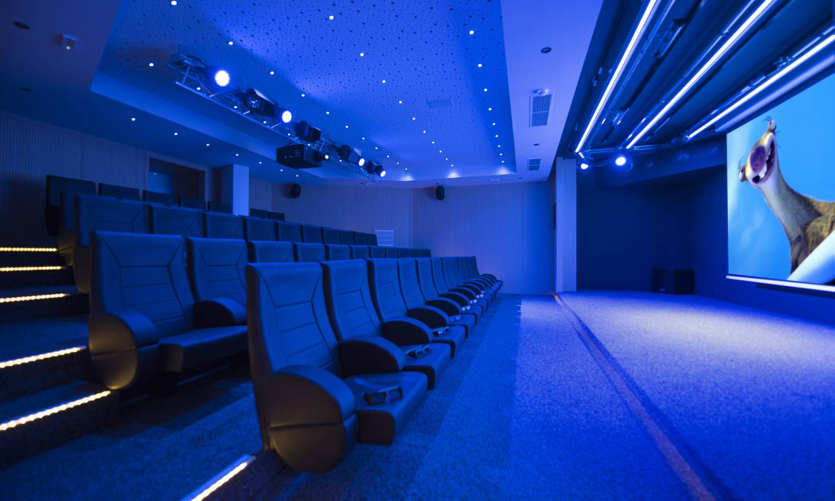 3D cinema with daily showings