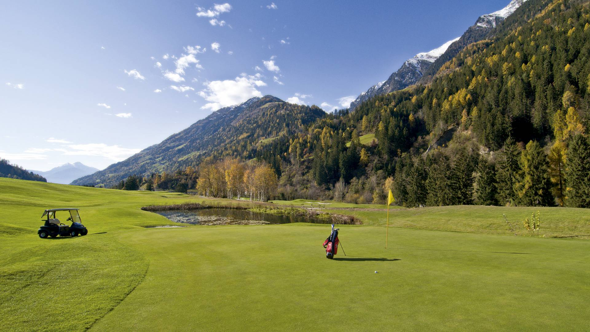 South Tyrol Golf Paradise mediteranean to high alpine