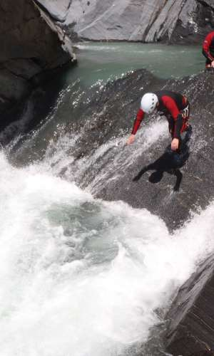 Canyoning, Tarzaning and climbing