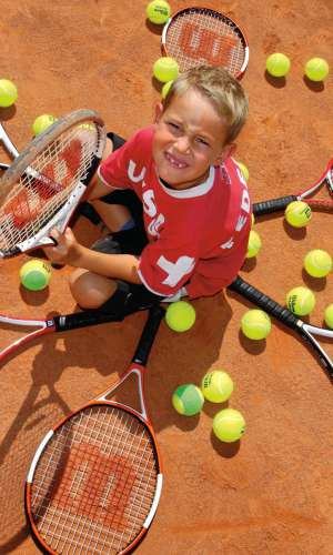 Sports camp & tennis camp for kids at Quellenhof Resort