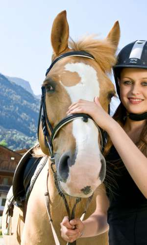 20 schooling horses in the Quellenhof Resort in South Tyrol