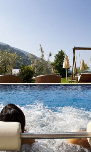 11 Pools in the Quellenhof Resort in South Tyrol