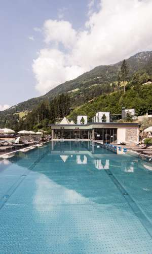 Wellness & Spa im Quellenhof Resort in Südtirol