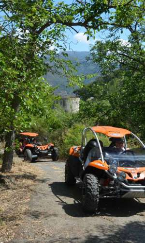 Children's quads for children over 10 years with organized tours and excursions
