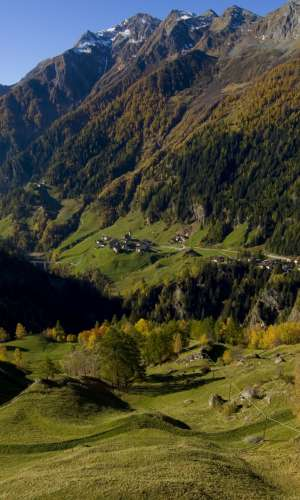Passeiertal in South Tyrol
