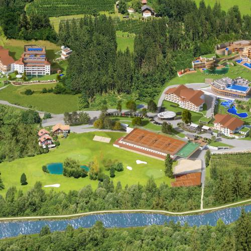 Resortkarte Quellenhof Resort in Südtirol