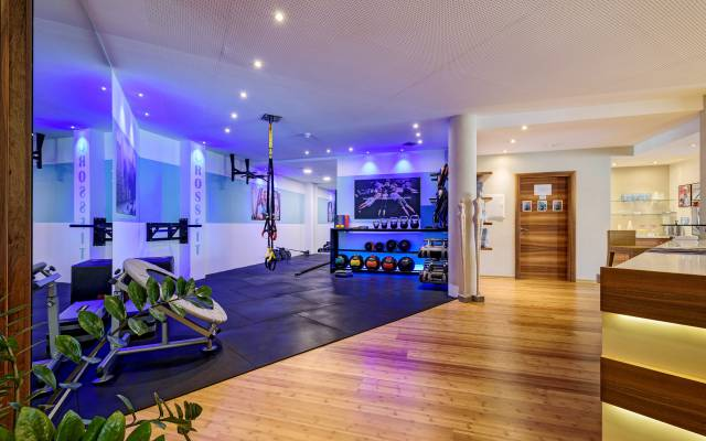 Fitness Center in the Quellenhof Resort