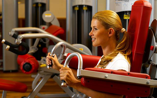 Fitness and Workout in the Quellenhof Resort