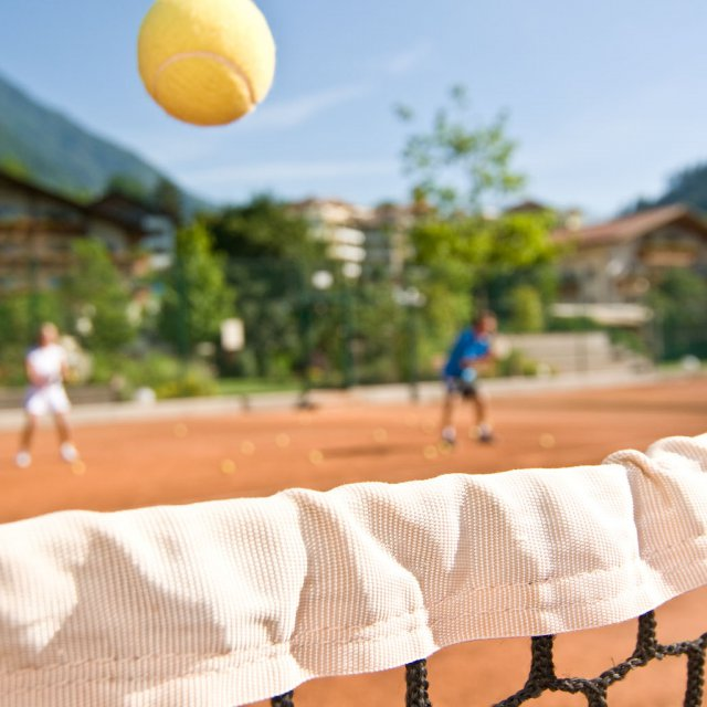 Tennis in the Quellenhof Resort in South Tyrol