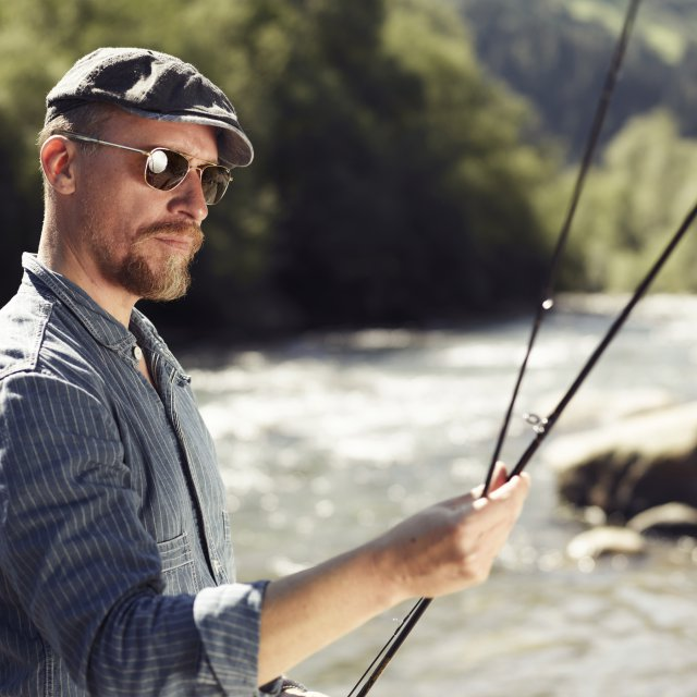Fly-fishing & angling in the Quellenhof Resort in South Tyrol