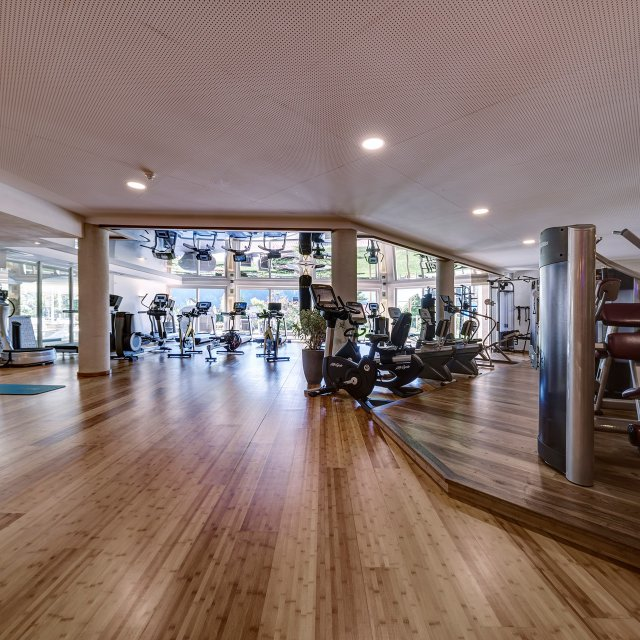 Fitnessraum & Workouts im Quellenhof Resort