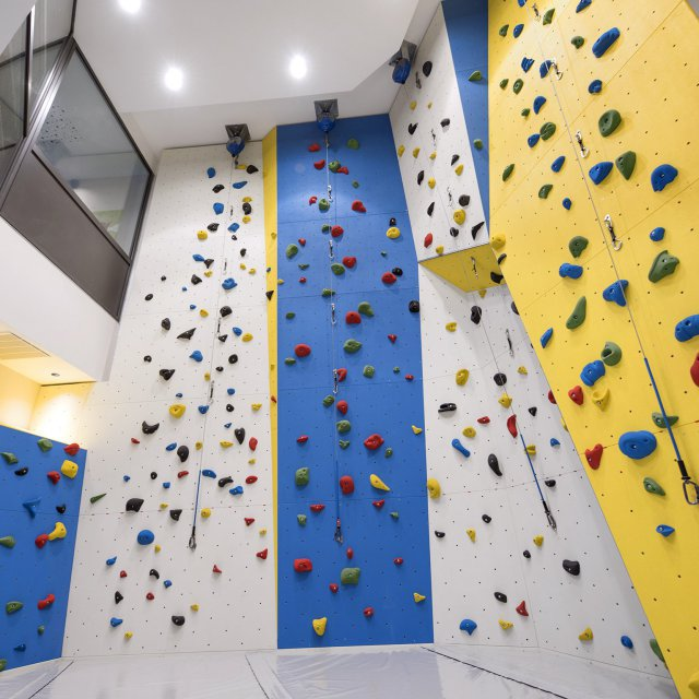 climbing hall in the Quellenhof Resort