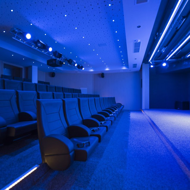 3D cinema in the Quellenhof Resort