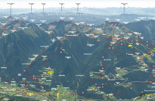 Interaktive landkarte wandern outdoor aktivit ten for Designhotel meran umgebung