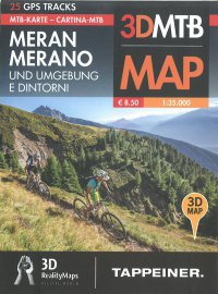 Mountainbike-Karte Meran