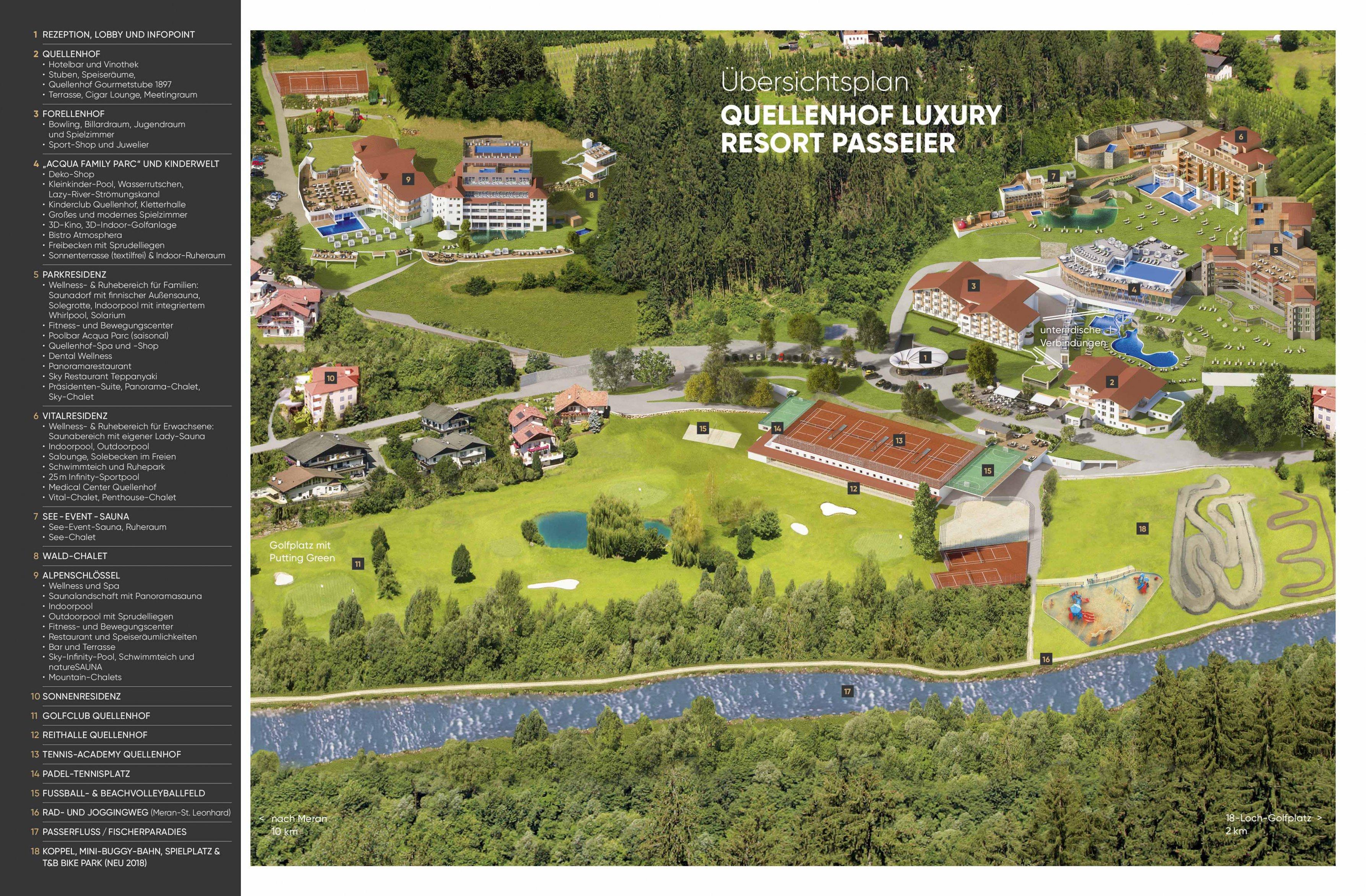 Quellenhof Resort Im überblick Quellenhof Luxury Resort Passeier